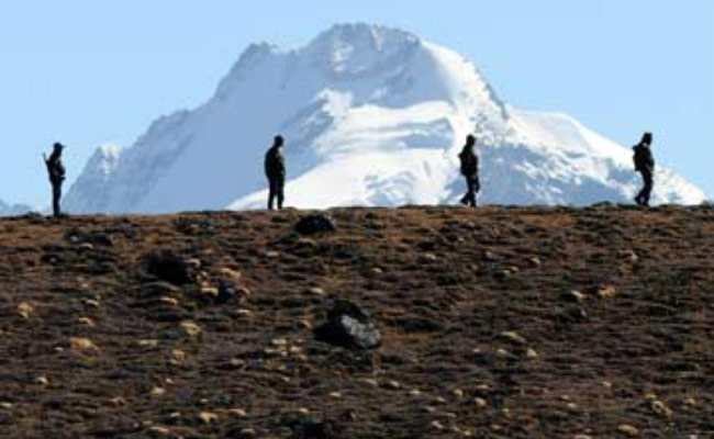 Indian and Chinese troops were involved in a major scuffle in the western sector in Ladakh on Aug 15 morning, said Indian media reports Aug 15-16.  (Photo courtesy: NDTV)