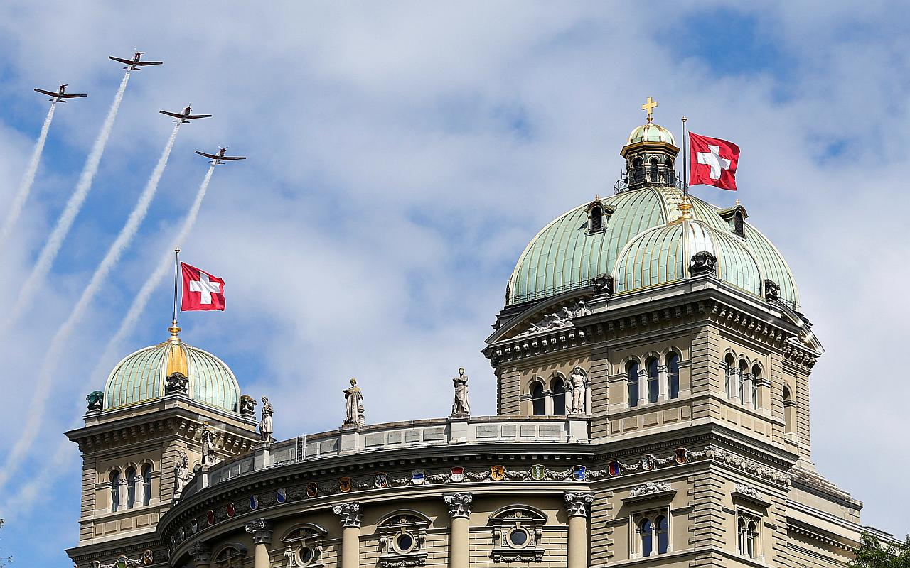 The Swiss Parliament building in Bern, Switzerland. (Photo courtesy: Reuters)