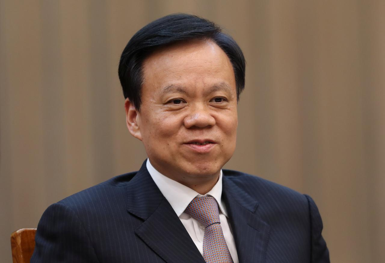 Chen Min'er, 57 Guizhou Communist Party boss. (Photo courtesy: REUTERS)