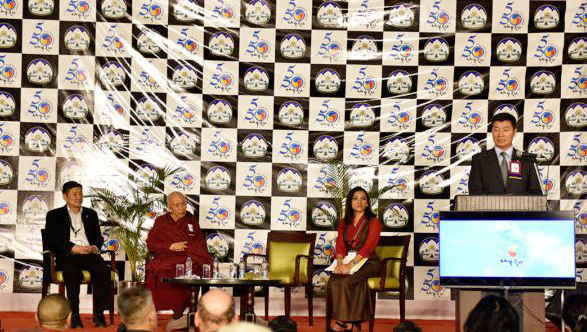 A three-day forum on what is called the 'Five and Fifty' vision, described as a flagship policy of the current President of the Central Tibetan Administration Dr Lobsang Sangay, began on Oct 6. (Photo courtesy: tibet.net)