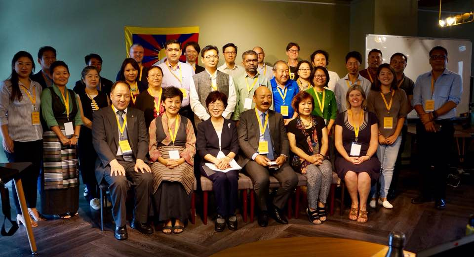 Tibet advocacy groups holding regional meet in Taipei. (Photo courtesy: ITN)