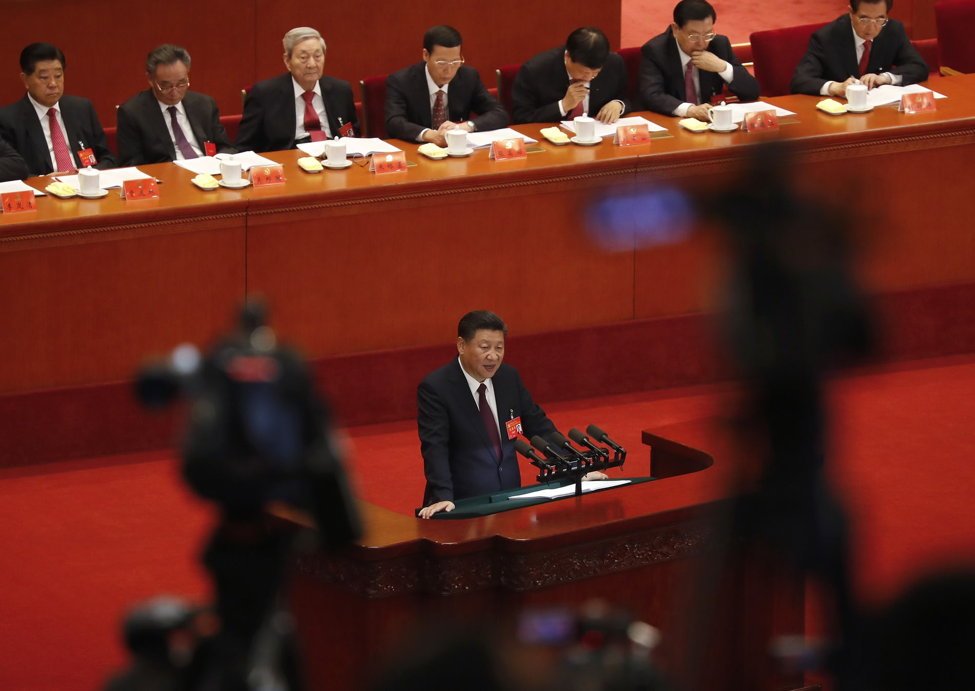 The 19th five-yearly congress of the Communist Party of China opened on Oct 18 in the Great Hall of the People in Beijing. (Photo courtesy: theguardian)
