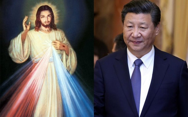Christ and Xi Jinping