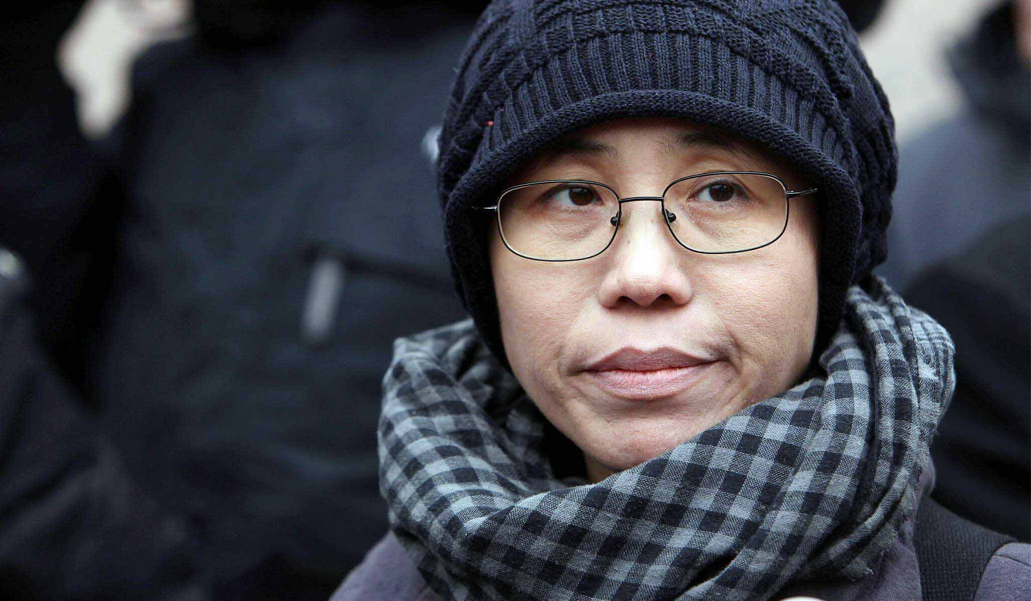 Liu Xia, widow of late Nobel peace laureate and political prisoner Liu Xiaobo. (Photo courtesy: voiceproject.org)