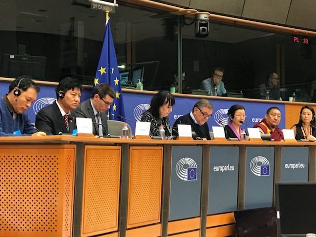 Exile Tibetan MPs lobby for support in Brussels