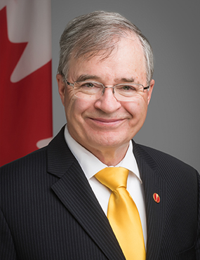 Senator Dennis Patterson. (Photo courtesy: Parliament of Canada)