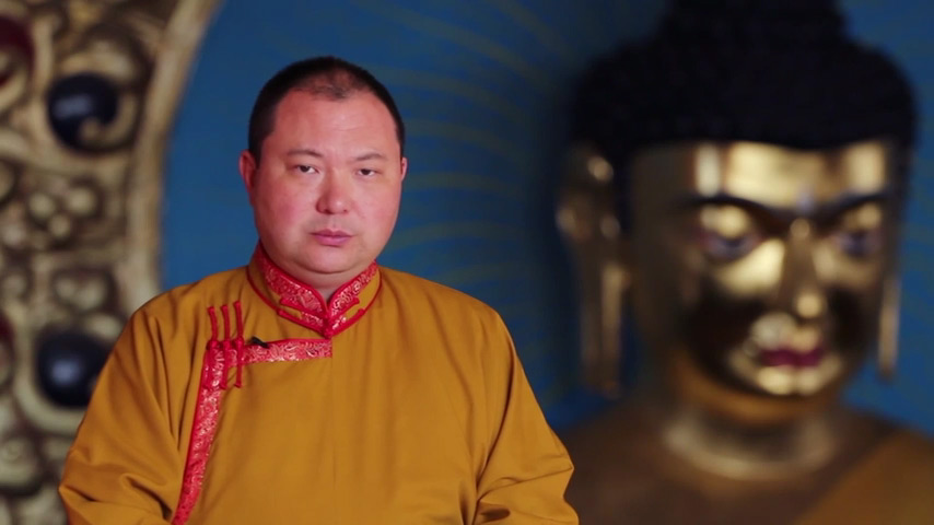 Telo Tulku Rinpoche, the Honorary Representative of His Holiness the Dalai Lama for Russia, Mongolia and CIS countries.
