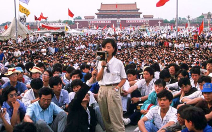 1989 Tiananmen Square Massacre. (Photo courtesy; BBC)