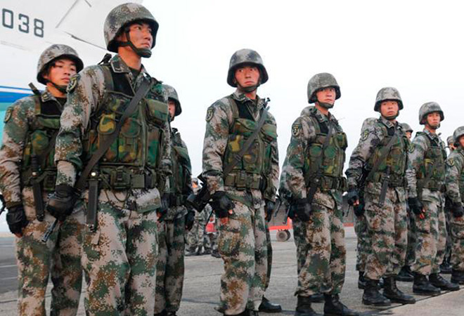 China reported to have stationed up to 1,800 troops in freezing winter at Doklam