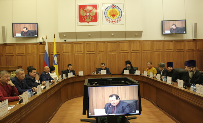 Moscow-based Tibet representative addresses official meetings with religious leaders