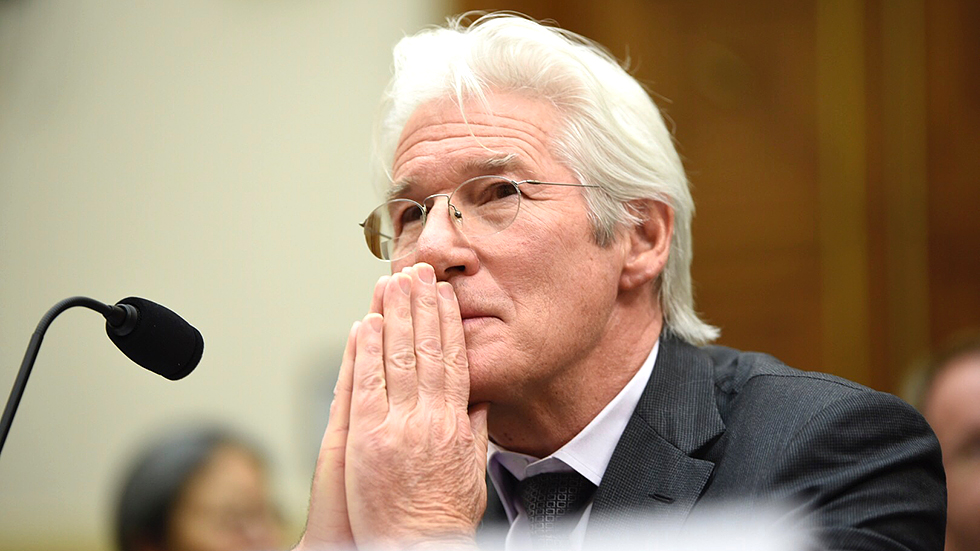Gere elated by level of support for Tibet at US Congress hearing
