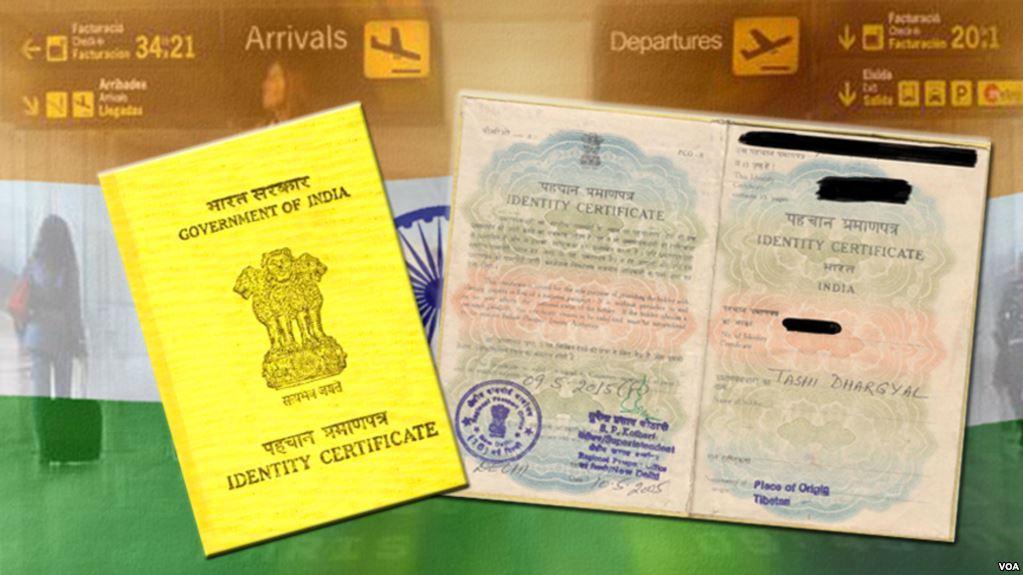 Tibetan Identity Certificate