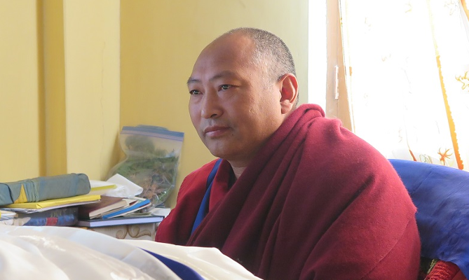 Geshe Dawa Dhargay, the 34th Menri Trizin. (Photo courtesy: Tibetan Journal)
