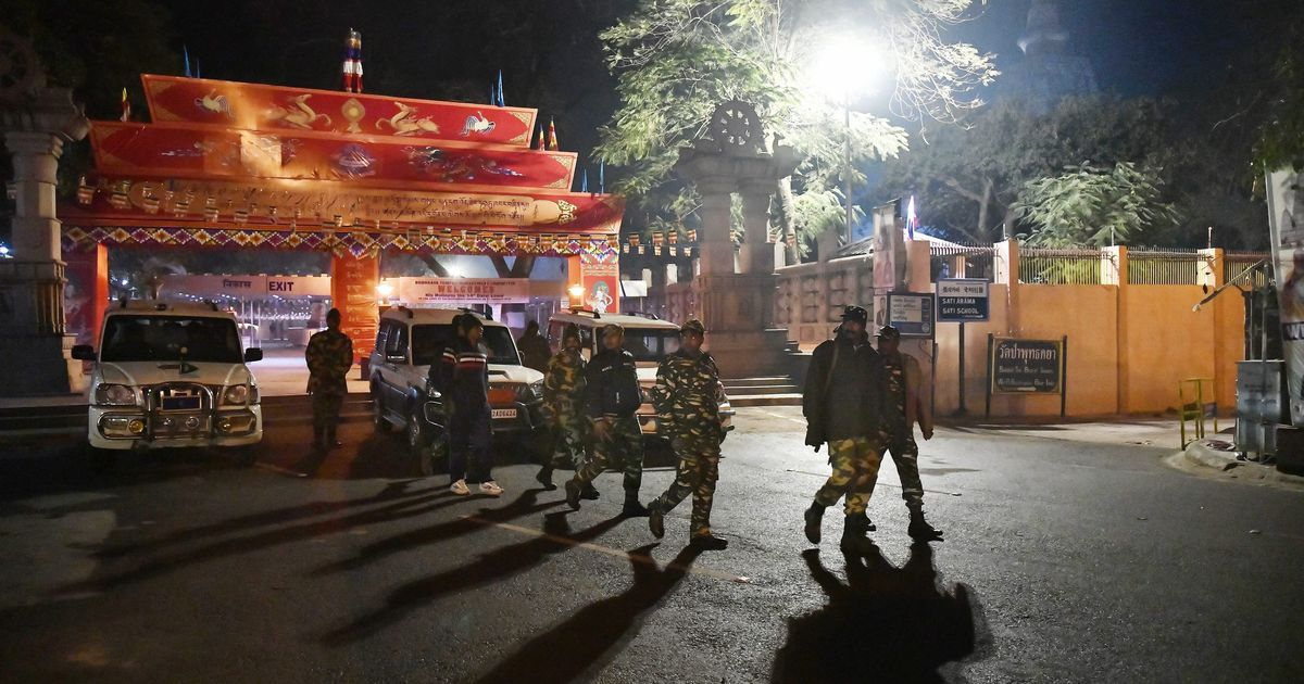 Police hunt for five unidentified Bodh Gaya bombs suspects