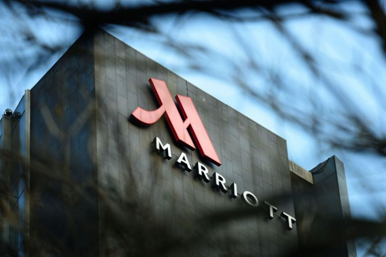 US hospitality company Marriott. (Photo courtesy: AFP)