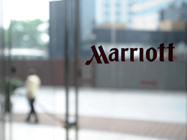 Marriott, (Photo courtesy: AFP)