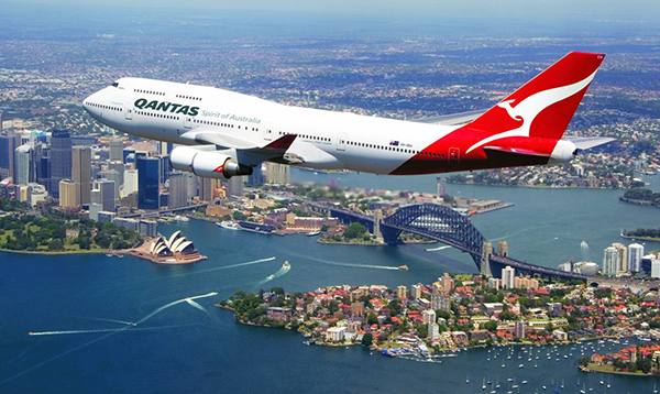 Australia's Qantas amends website to support China's territorial assertions