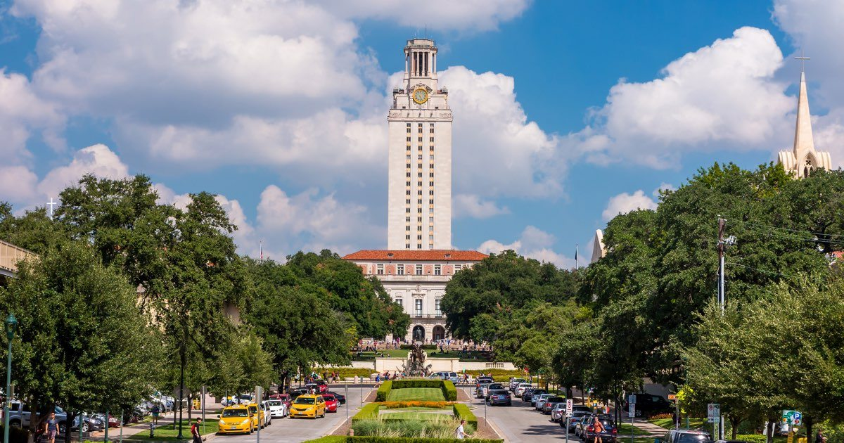 The University of Texas at Austin.