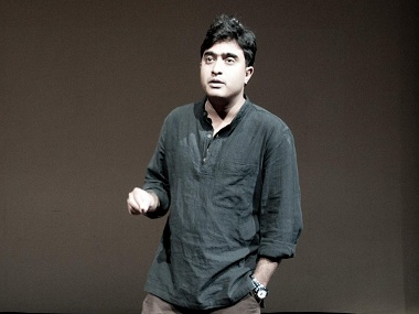 Indian playwright Abhishek Majumdar.