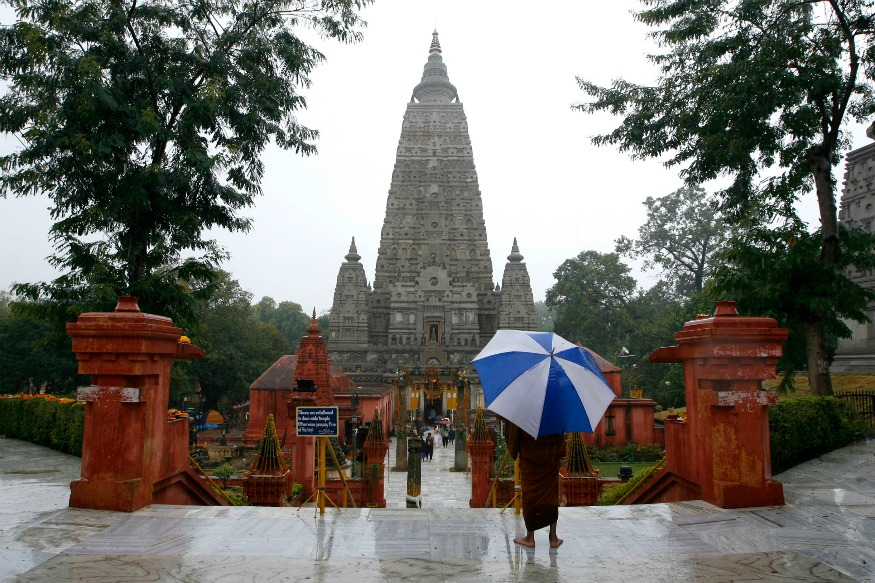 Mahabodhi Temple, Bodh Gaya, Bihar, India. (Photo courtesy: IBN LIVE)