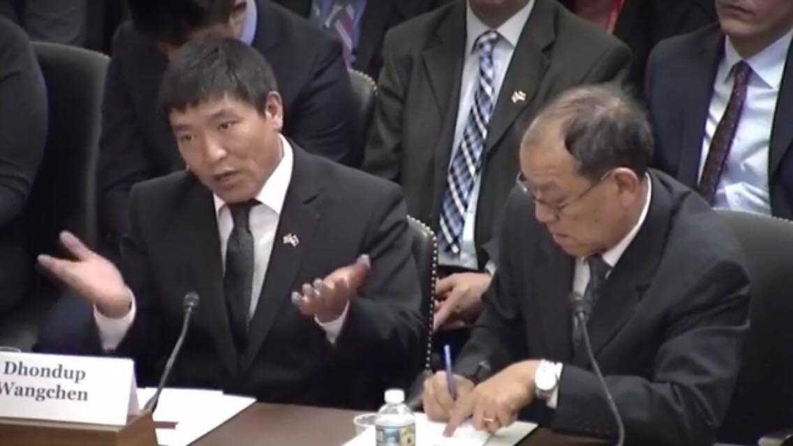 Formerly Jailed Tibetan filmmaker from Tibet testifies in US Congress