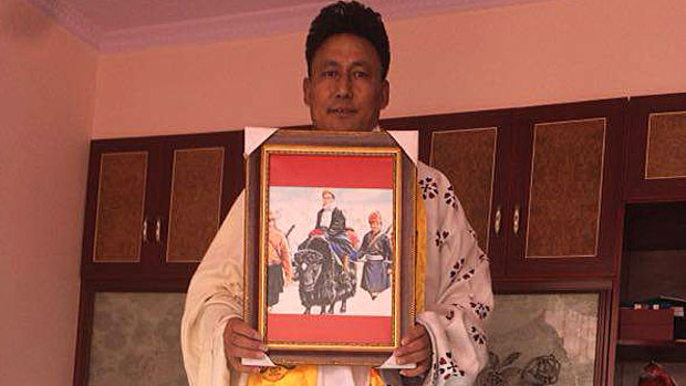 Disappeared Tibetan protester found to be in Chinese police detention