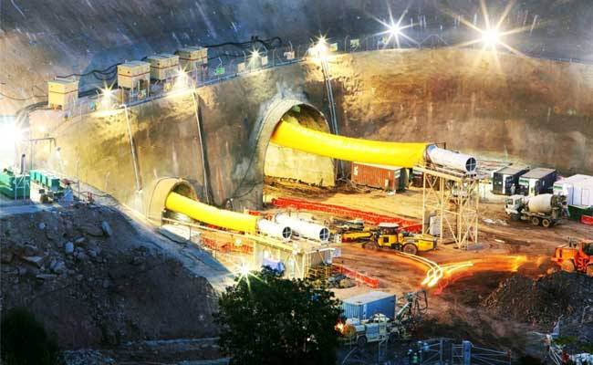 The government of India plans to build a tunnel at an elevation of 13,700 feet to construct a tunnel in the Arunachal Pradesh. (Photo courtesy: Indian Defence Update)