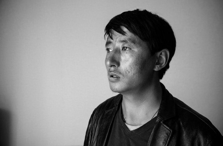 Tashi Wangchuk, Tibetan language rights activist. (Photo courtesy: NYT)