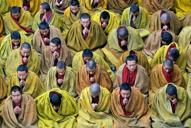 China tests Tibetan monks, nuns for loyalty to communist party rule