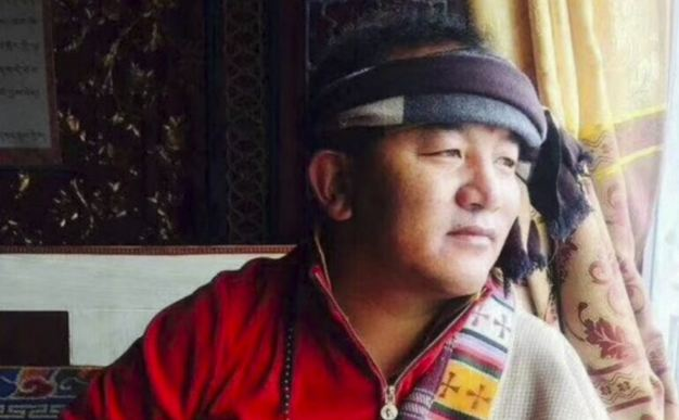 Tsekho Tukchak in his early 40s has died after setting himself on fire in protest against Chinese rule in Ngaba (Chinese: Aba) County of Sichuan Province on Mar 7. (Photo courtesy: scmp)