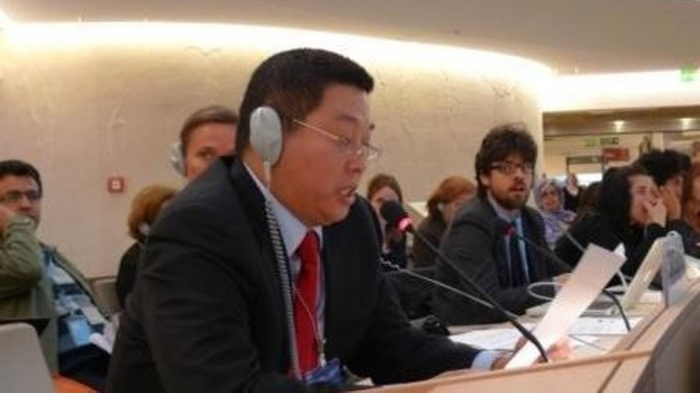 China fails to thwart dissident from addressing UN Human Rights Council