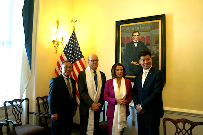 Exile Tibetan leader calls on US lawmakers