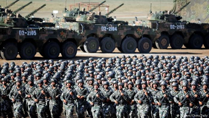 China's military wants to ensure its border areas are protected in all environments. (Photo courtesy: DW)
