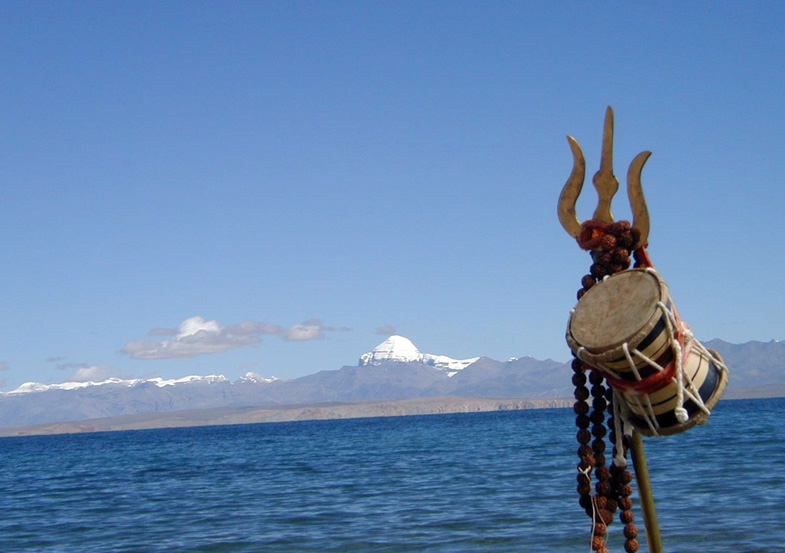 Kailash-Manasarovar in Tibet. (Photo courtesy: TOI)