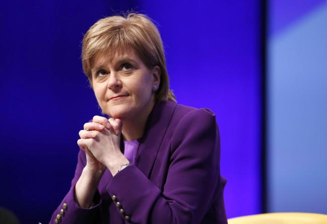 Scotland's First minister Ms Nicolas Sturgeon. (Photo courtesy: Herald Scotland)