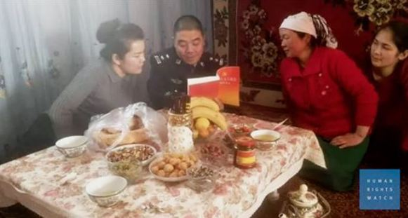 Chinese cadres invite themselves to Uyghur homes in new stability campaign