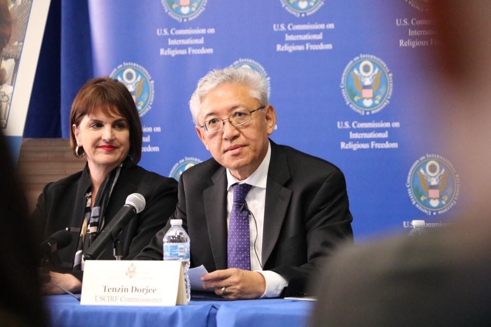 Dr Tenzin Dorjee reappointed to global religious freedom commission of US