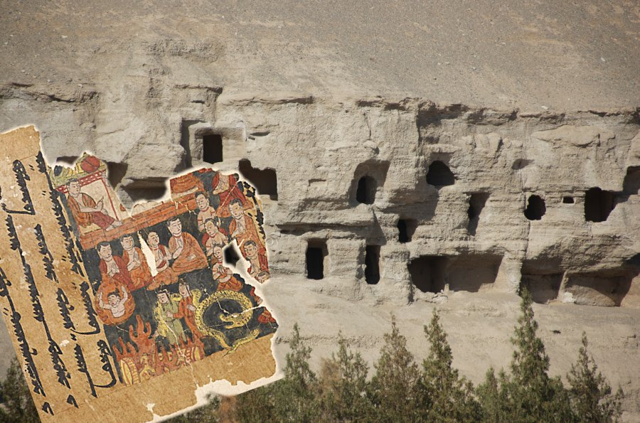 Tibetan texts from ancient Chinese caves being digitalized