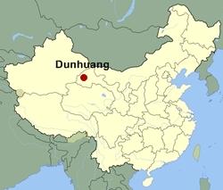 Dunhuang-map