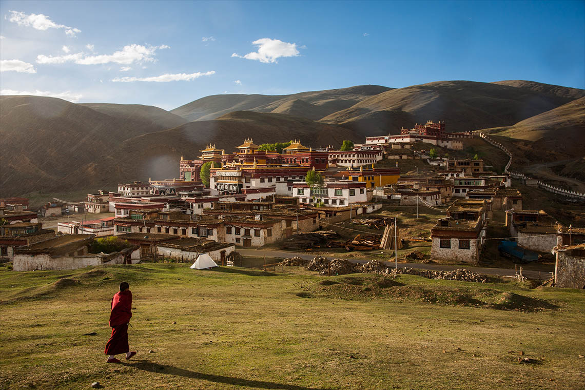 Lithang Monastery. (Photo courtesy: Michael Yamashita)