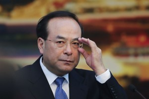 Sun Zhengcai, former Chongqing Municipality Communist Party Secretary. (Photo courtesy: Bloomberg)