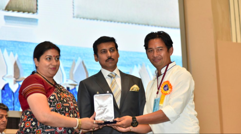 Tibetan exile wins Indian national film editing award