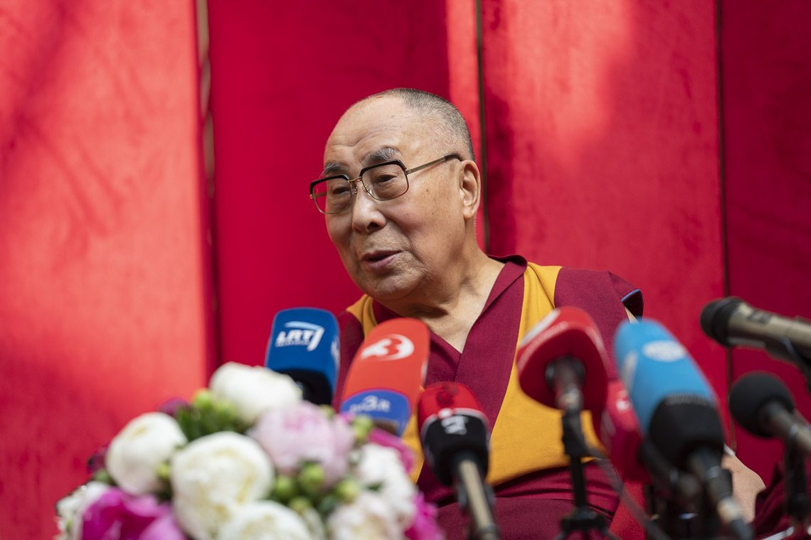Dalai Lama ill-heath report dismissed as fake news