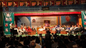The first International Conference on Middle Way (Umaylam) Policy held from May 26-31, 2018 in Dharamshala. (Photo courtesy: TIBET EXPRESS)