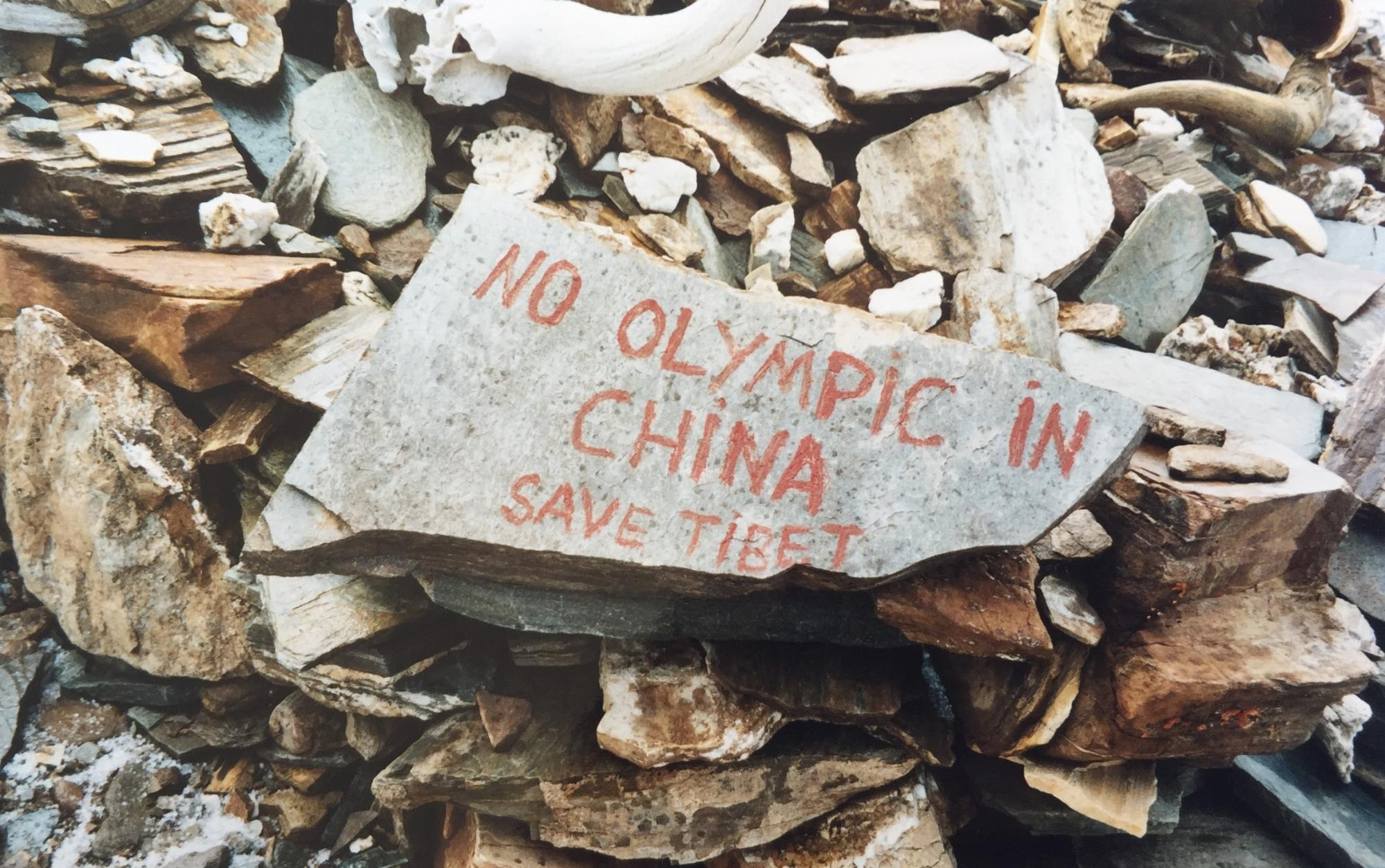 The 2008 uprising and the Olympics