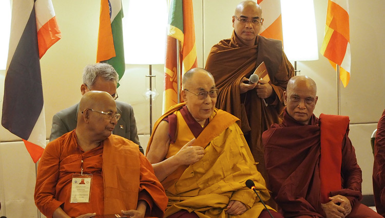 Dalai Lama hears delegates on their dialogue on Buddhist canons