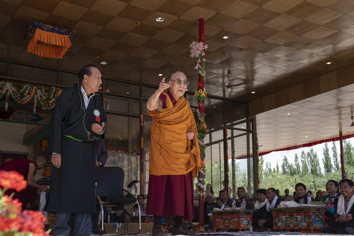 Dalai Lama stresses collective responsibility on his 83rd birthday event