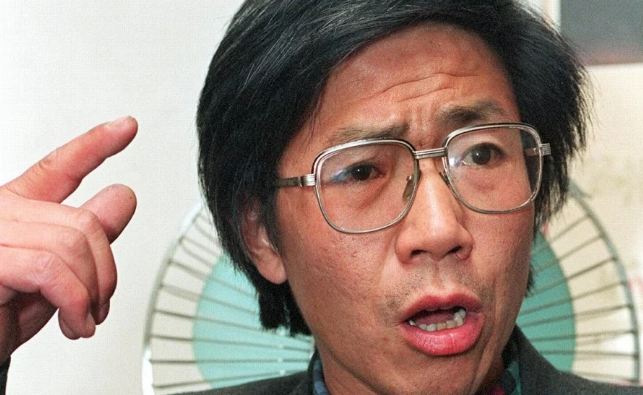 Qin Yongmin, pictured in 1993, was jailed between 1998 and 2010 for his pro-democracy activism. (Photo courtesy: AFP)