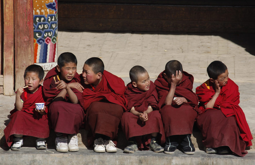 China said to force Tibetan monks out of monasteries for secular education in gov't-run schools