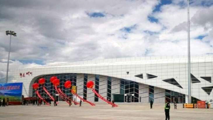 A new civil airport in the Qilian Mountains area. (Photo courtesy: urdupoint)